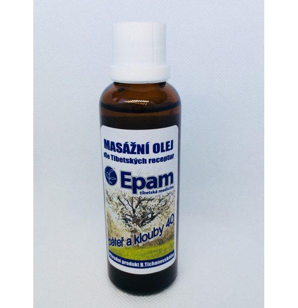 Kĺby a chrbtica - olej 40