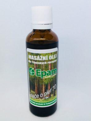Starostlivosť o pleť - olej 70