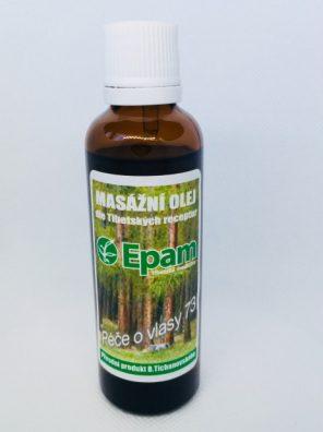 Starostlivosť o vlasy - olej 73