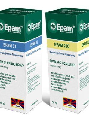 Posilnenie imunity Epam 20C + Epam 21