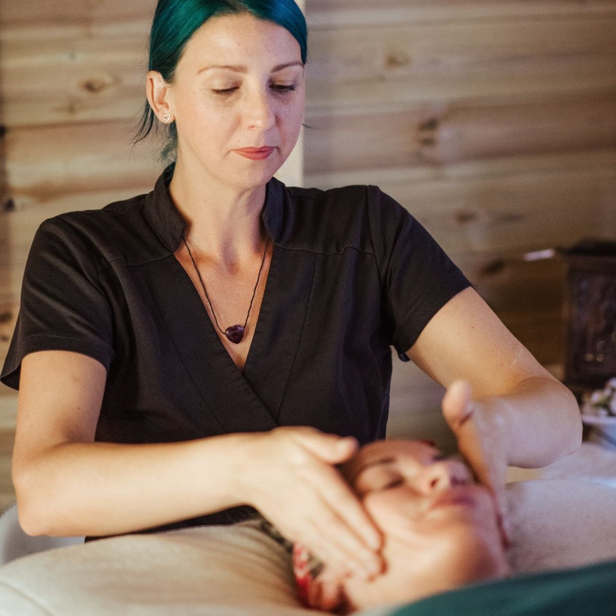 Relaxačná masáž tváre